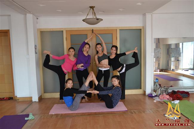 天竺瑜伽第182期初中高级连读瑜伽教练培训全日制脱产培训班