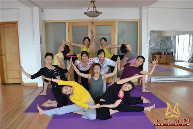 天竺瑜伽第185期初中高级连读瑜伽教练培训全日制脱产培训班
