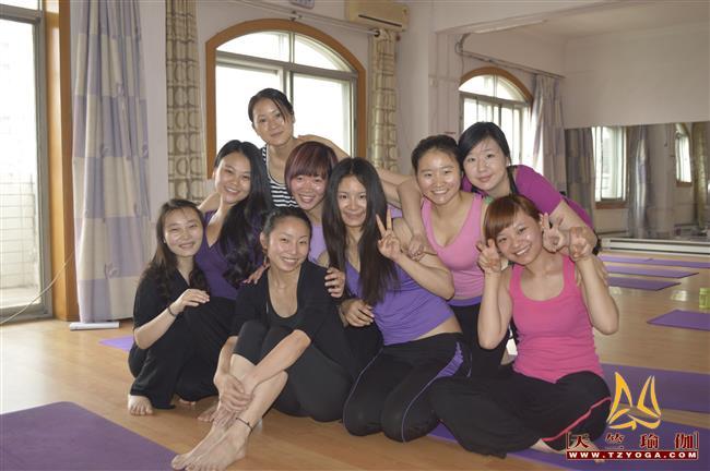天竺瑜伽第187期初中高级连读瑜伽教练培训全日制脱产培训班