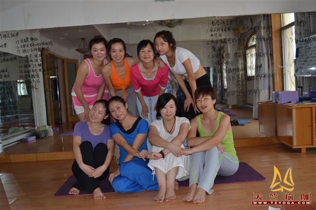 天竺瑜伽第189期初中高级连读瑜伽教练培训全日制脱产培训班