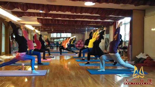 天竺瑜伽第204期瑜伽教练培训班