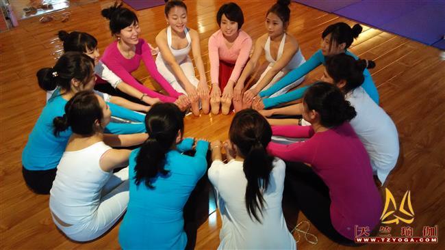 天竺瑜伽第205期瑜伽教练培训班