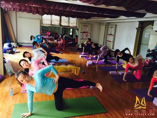 天竺瑜伽第206期瑜伽教练培训班