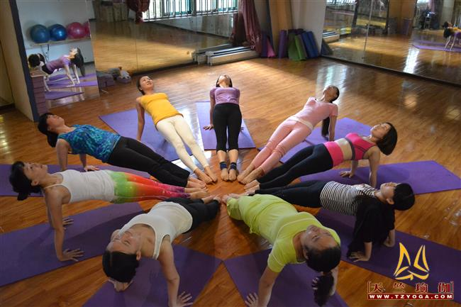 天竺瑜伽第208期瑜伽教练培训班