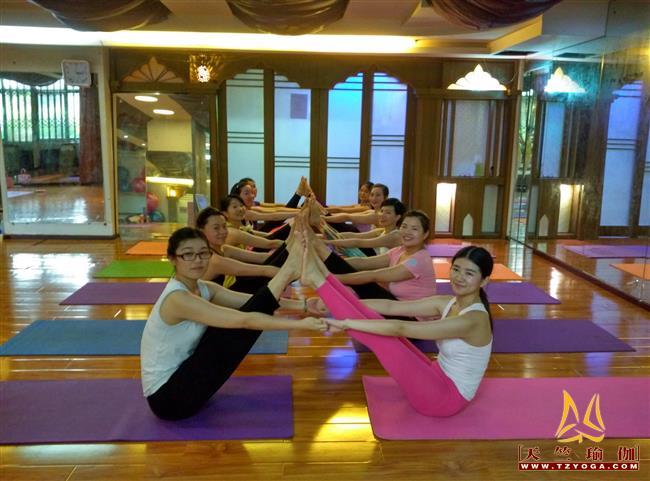 天竺瑜伽第209期瑜伽教练培训班