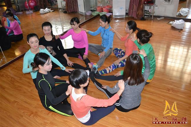 天竺瑜伽第214期瑜伽教练培训班