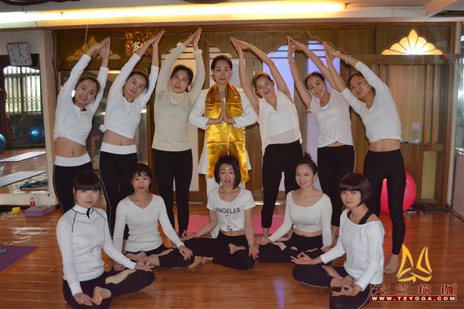 天竺瑜伽第216期瑜伽教练培训班