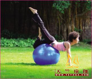 球瑜伽( fitball yoga ):趣味、放松、减压