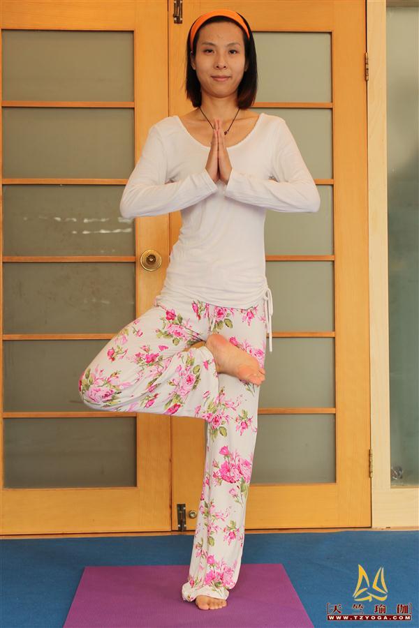 瑜伽优秀学员范红婷