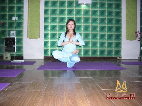 天竺瑜伽优秀教练--杨悦
