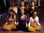 天竺瑜伽第153期初中高级连读瑜伽教练培训全日制脱产培训班