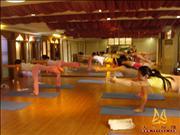 天竺瑜伽第158期初中高级连读瑜伽教练培训全日制脱产培训班