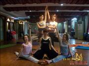天竺瑜伽第159期初中高级连读瑜伽教练培训全日制脱产培训班