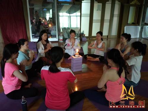 天竺瑜伽第230期瑜伽教练培训班