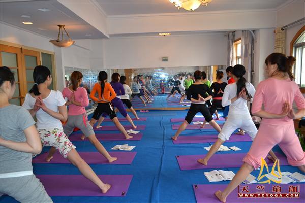 天竺瑜伽第174期初中高级连读瑜伽教练培训全日制脱产培训班