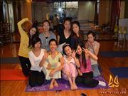 天竺瑜伽第181期初中高级连读瑜伽教练培训全日制脱产培训班