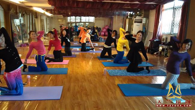 天竺瑜伽第204期初中高级连读瑜伽教练培训全日制脱产培训班
