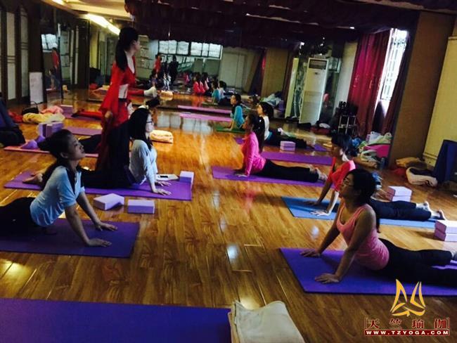 天竺瑜伽第206期初中高级连读瑜伽教练培训全日制脱产培训班