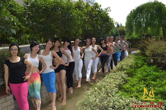 天竺瑜伽第210期初中高级连读瑜伽教练培训全日制脱产培训班