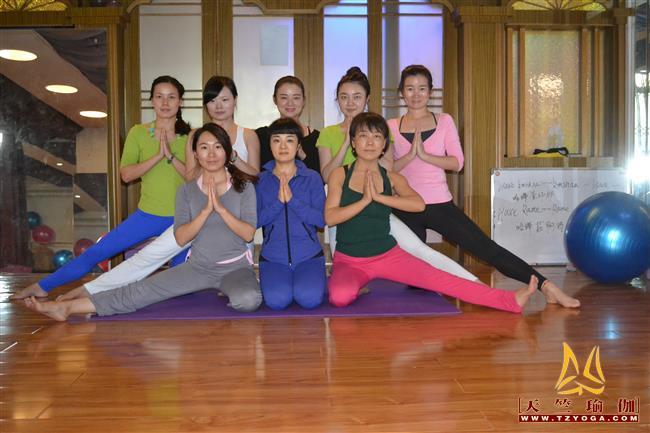 天竺瑜伽第212期初中高级连读瑜伽教练培训全日制脱产培训班