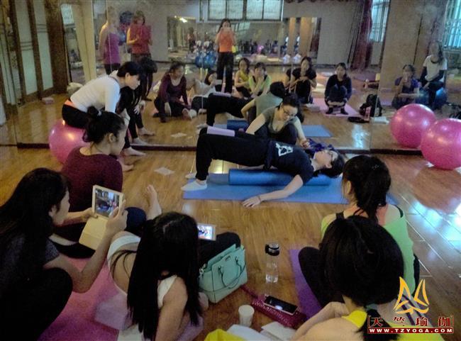 天竺瑜伽第213期初中高级连读特色进修普拉提培训全日制脱产培训班