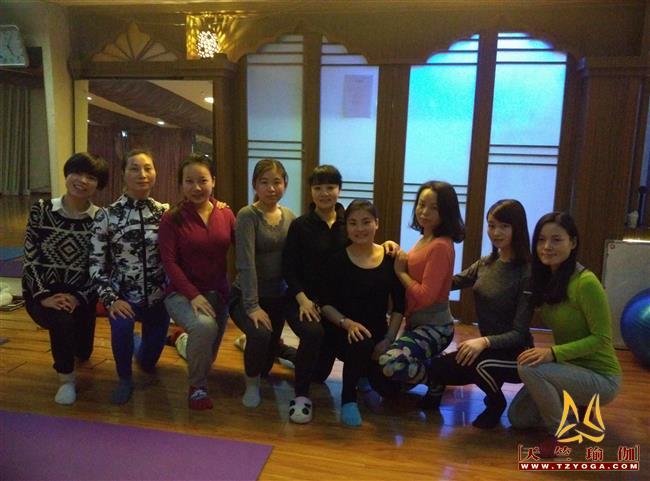 天竺瑜伽2016年1月1日普拉提进修培训班
