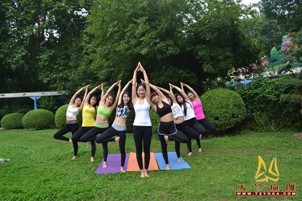 天竺瑜伽教练培训班