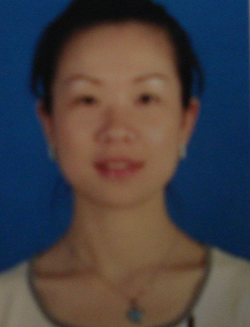 瑜伽优秀学员胡晓玲