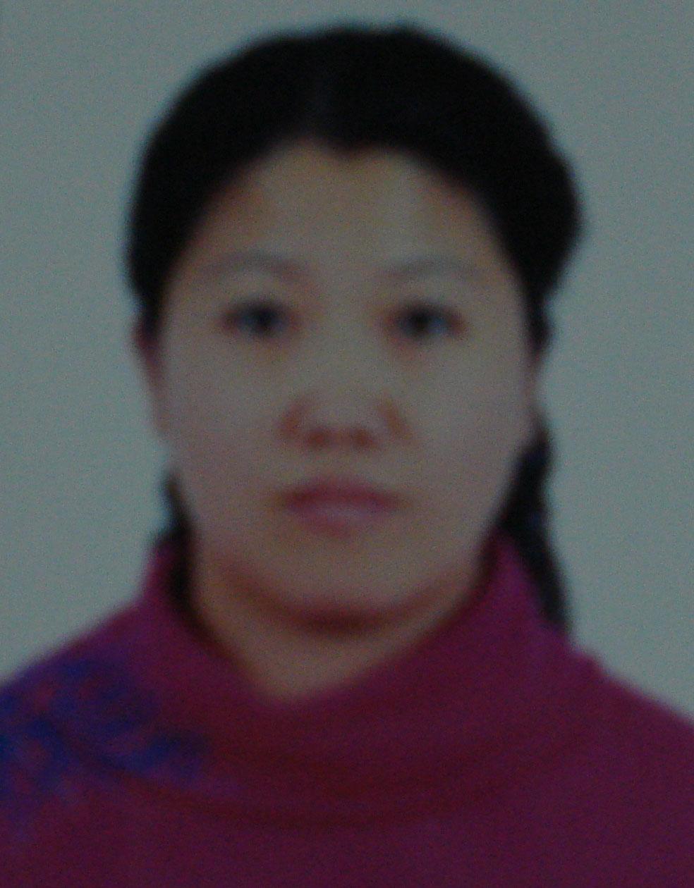 瑜伽优秀学员王丽娟